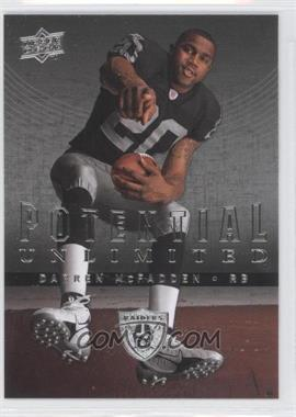 2008 Upper Deck - Potential Unlimited #PU11 - Darren McFadden