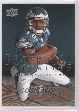 2008 Upper Deck - Potential Unlimited #PU12 - DeSean Jackson