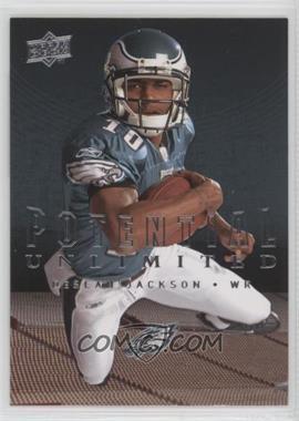 2008 Upper Deck - Potential Unlimited #PU12 - DeSean Jackson