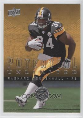 2008 Upper Deck - Potential Unlimited #PU17 - Rashard Mendenhall