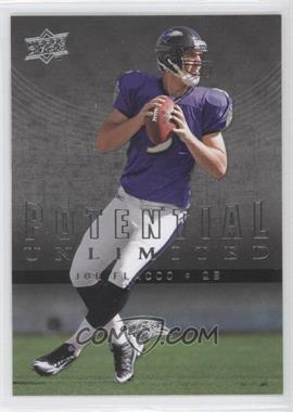 2008 Upper Deck - Potential Unlimited #PU18 - Joe Flacco