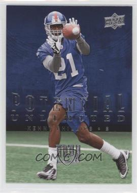 2008 Upper Deck - Potential Unlimited #PU21 - Kenny Phillips