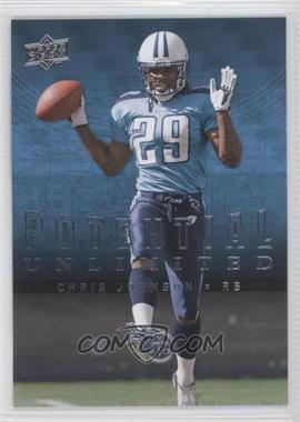 2008 Upper Deck - Potential Unlimited #PU32 - Chris Johnson