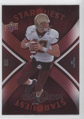 2008 Upper Deck - Starquest - Rainbow Red #SQ22 - Matt Ryan