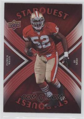 2008 Upper Deck - Starquest - Rainbow Red #SQ24 - Patrick Willis