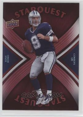 2008 Upper Deck - Starquest - Rainbow Red #SQ30 - Tony Romo