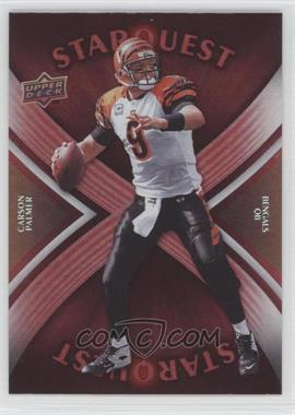 2008 Upper Deck - Starquest - Rainbow Red #SQ6 - Carson Palmer