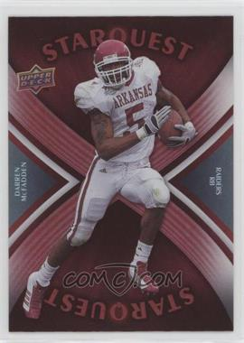 2008 Upper Deck - Starquest - Rainbow Red #SQ8 - Darren McFadden