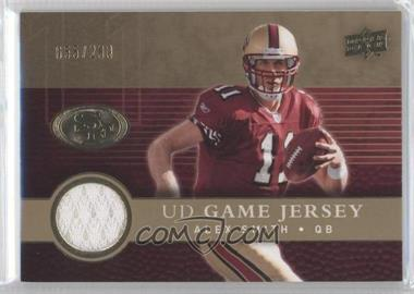2008 Upper Deck - UD Game Jersey - Gold #UDGJ-AS - Alex Smith /200