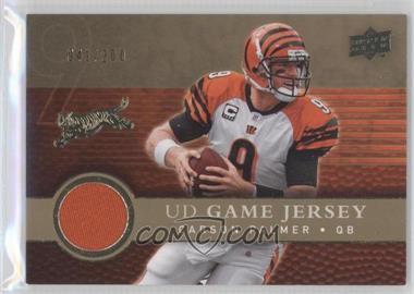 2008 Upper Deck - UD Game Jersey - Gold #UDGJ-CP - Carson Palmer /200
