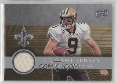 2008 Upper Deck - UD Game Jersey #UDGJ-DB - Drew Brees