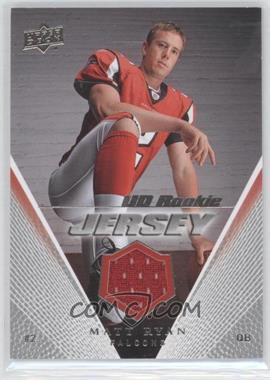 2008 Upper Deck - UD Rookie Jersey #UDRJ-MR - Matt Ryan