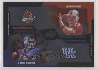 Brian Brohm, Andre' Woodson [EX to NM]