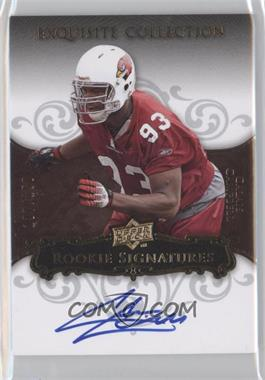 2008 Upper Deck Exquisite Collection - [Base] #102 - Calais Campbell /150