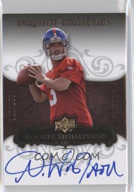2008 Upper Deck Exquisite Collection - [Base] #105 - Andre Woodson /150