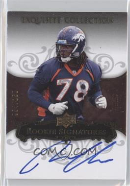 2008 Upper Deck Exquisite Collection - [Base] #140 - Ryan Clady /150
