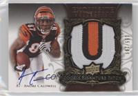 Rookie Signature Patch - Andre Caldwell #/199