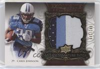 Rookie Signature Patch - Chris Johnson #/199