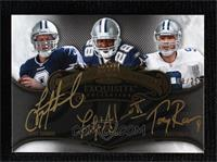 Tony Romo, Troy Aikman, Felix Jones #/25
