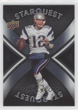 2008 Upper Deck First Edition - Starquest #SQ29 - Tom Brady