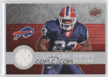 2008 Upper Deck First Edition - UD Game Jersey #FGJ-LY - Marshawn Lynch