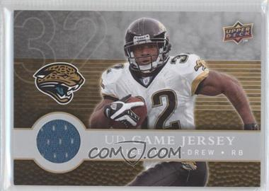 2008 Upper Deck First Edition - UD Game Jersey #FGJ-MJ - Maurice Jones-Drew
