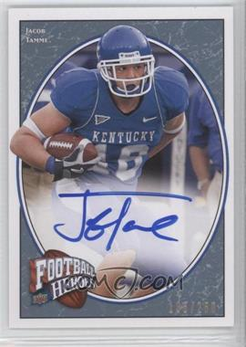 2008 Upper Deck Football Heroes - [Base] - Blue Autographs [Autographed] #149 - Jacob Tamme /250