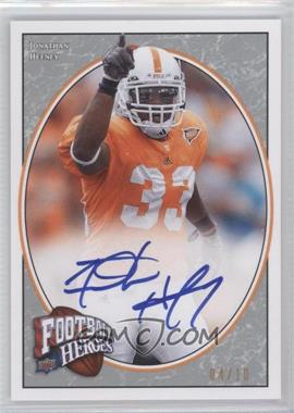 2008 Upper Deck Football Heroes - [Base] - Platinum Autographs [Autographed] #161 - Jonathan Hefney