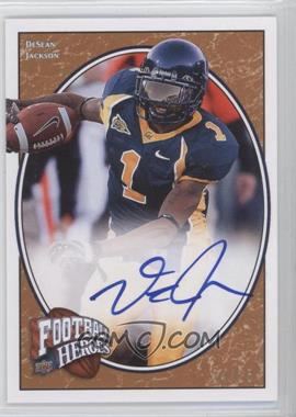 2008 Upper Deck Football Heroes - [Base] - Red Autographs [Autographed] #138 - DeSean Jackson /25