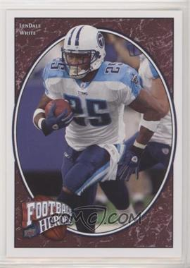 2008 Upper Deck Football Heroes - [Base] #56 - LenDale White [EX to NM]