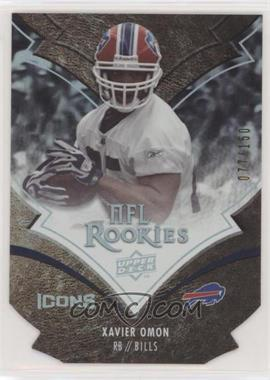2008 Upper Deck Icons - [Base] - Silver Die-Cut #216 - Xavier Omon /150