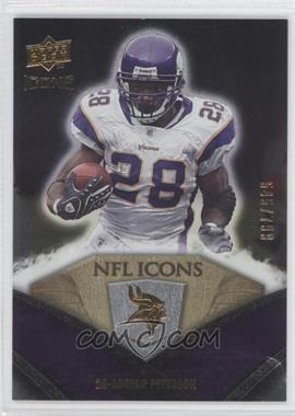 2008 Upper Deck Icons - NFL Icons - Silver #NFL1 - Adrian Peterson /799