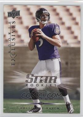 2008 Upper Deck Rookie Exclusives - [Base] #RE26 - Joe Flacco