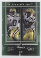 Joseph Addai, Dwayne Bowe /50