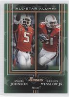 Andre Johnson, Kellen Winslow Jr.