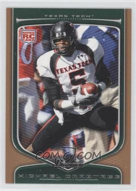 2009 Bowman Draft Picks - [Base] - Bronze #114 - Michael Crabtree /99