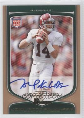 2009 Bowman Draft Picks - [Base] - Rookie Autographs Bronze [Autographed] #136 - John Parker Wilson /99