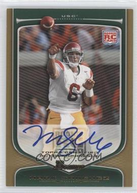 2009 Bowman Draft Picks - [Base] - Rookie Autographs Gold [Autographed] #190 - Mark Sanchez /10
