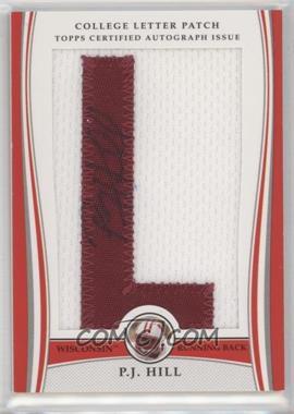 2009 Bowman Draft Picks - College Letter Patch #LAP-PJH - P.J. Hill /173