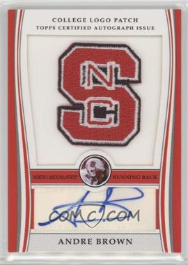 2009 Bowman Draft Picks - College Logo Patch - Mascot Variation #ALP-AB - Andre Brown /300