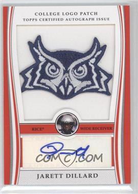 2009 Bowman Draft Picks - College Logo Patch - Mascot Variation #ALP-JD - Jarett Dillard /300