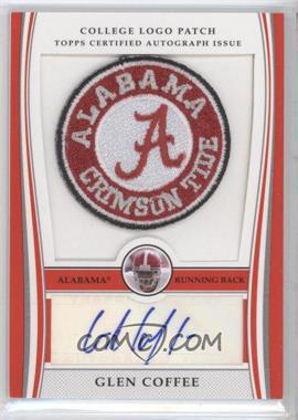 2009 Bowman Draft Picks - College Logo Patch #ALP-GC - Glen Coffee /250