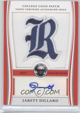 2009 Bowman Draft Picks - College Logo Patch #ALP-JD - Jarett Dillard /300