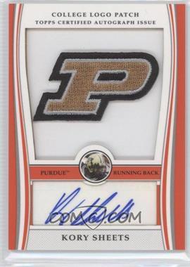 2009 Bowman Draft Picks - College Logo Patch #ALP-KS - Kory Sheets