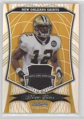 2009 Bowman Sterling - [Base] - Gold Refractor #88 - Marques Colston /25