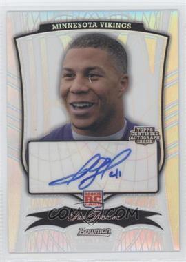 2009 Bowman Sterling - [Base] - Refractor #103 - Ian Johnson /75