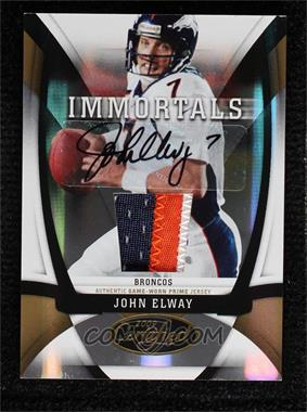 2009 Certified - [Base] - Mirror Gold Signature [Autographed] #213 - John Elway /25