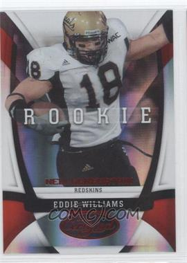 2009 Certified - [Base] - Mirror Red #155 - Eddie Williams /250