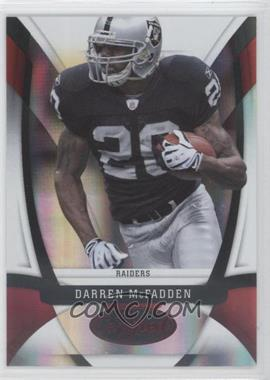 2009 Certified - [Base] - Mirror Red #87 - Darren McFadden /250