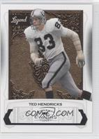 Ted Hendricks #/999